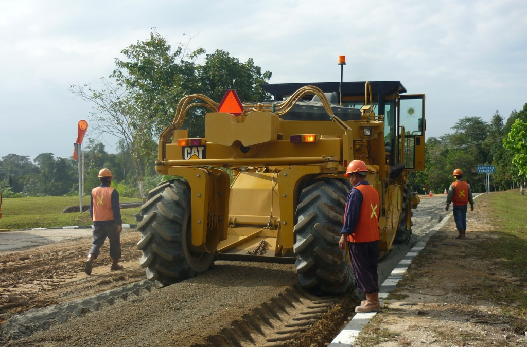 Pavement stabilisation processing